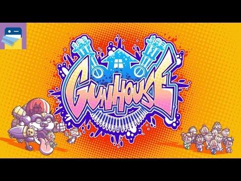 Gunhouse: iOS iPhone 6S Gameplay Walkthrough (by Necrosoft Games LLC)