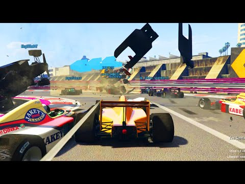 NEW OPEN WHEEL F1 RACES In GTA Online! *INSANE*