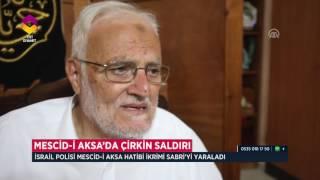 Mescid-i Aksa'ya Polis Saldırısı