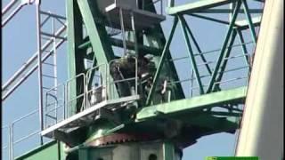 Montaje grúa torre J-600. Sertiber S.L.