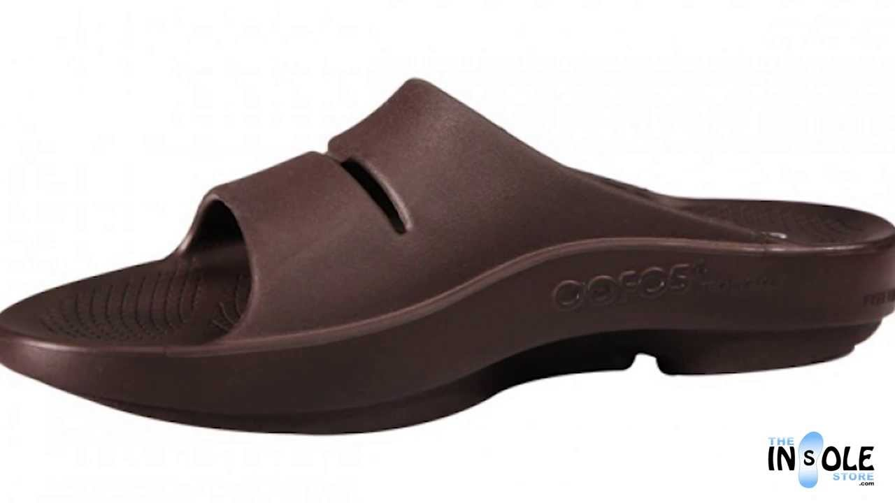 87ce01677c75 OOFOS OOahh Slides in Every Color  TheInsoleStore.com - YouTube