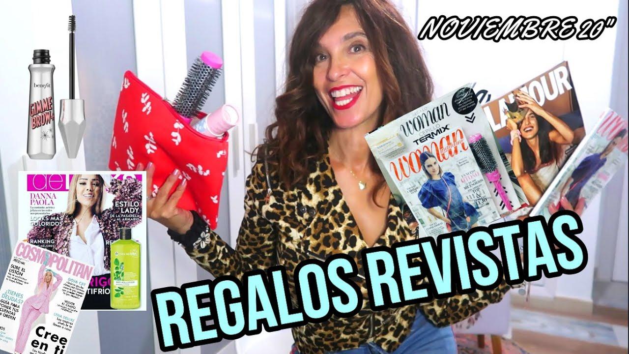 """REGALOS REVISTAS (NOV 20"""") BENEFIT/ESSENCE/NYX"""