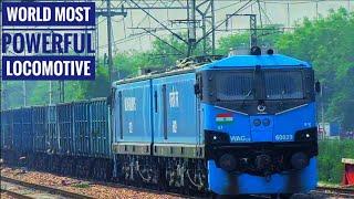 World Most Powerful Rail Locomotive WAG-12B (60029) Thrashed Narela!!