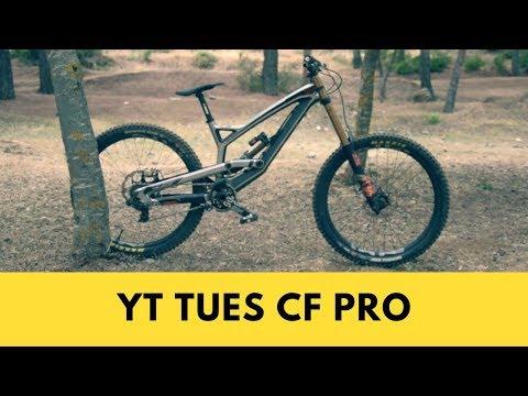 Обзор Даунхилл Велосипеда YT Tues Pro Race