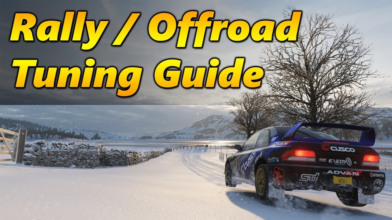 Forza Horizon 4 Rally / Offroad Guide | How to Tune and Drive