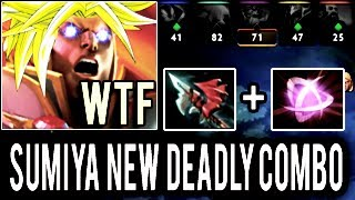 The Best Invoker in The World! SumiYa Invoker Boss NEW Combo Epic Gameplay 7.06 Dota 2