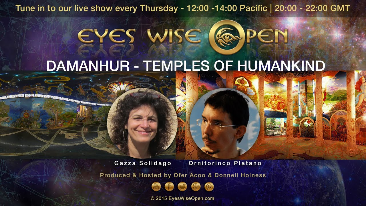 Poster do filme Dreams of Damanhur - The Temples of Humankind