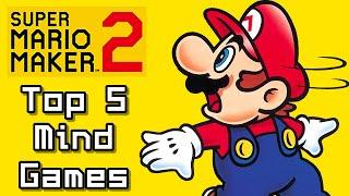 Super Mario Maker Top 5 Latest MINDGAMES Courses (Switch)