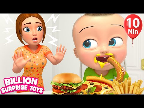 Baby Johny Table Manners Song -  Animation for Kids