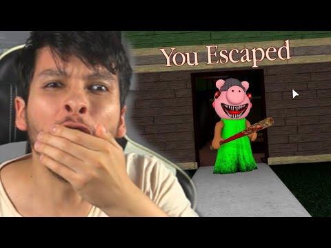 FINAL CAPÍTULO 1: ESCAPÉ DE LA CASA DE PIGGY EN ROBLOX !! - Piggy (Horror Game) | DeGoBooM