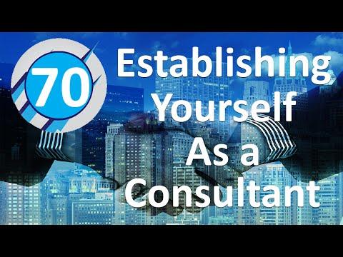 70:  Establishing Yourself As a Consultant (Bob Podgorski)