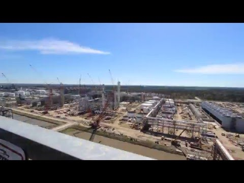 USGC Petrochemicals Project: Cedar Bayou Timelapse Video