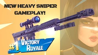 NEW 50 CAL SNIPER GAME PLAY!! Sick Snipes| Fortnite Battle Royale
