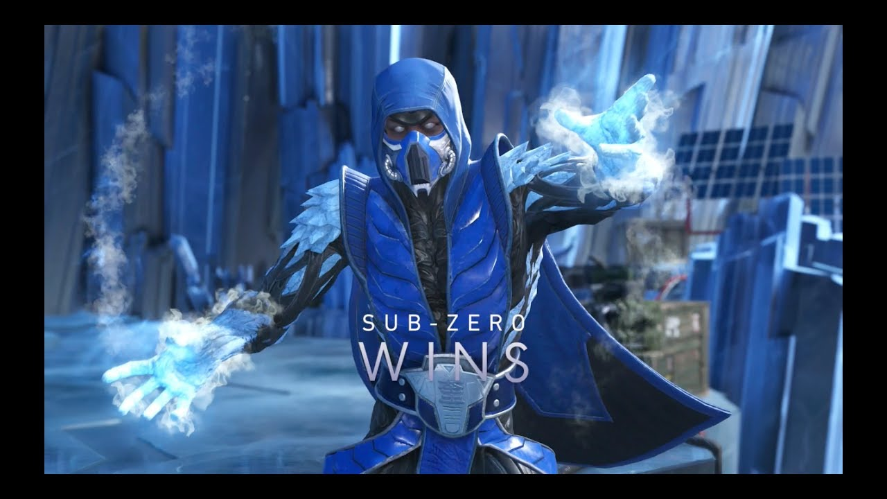 Injustice 2: Sub-Zero Super Move on All Characters - YouTube