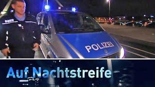 Im Einsatz mit der Frankfurter Polizei