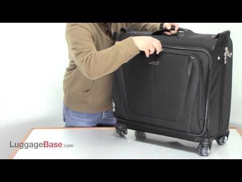Samsonite Silhouette Sphere II Deluxe Voyager Garment Bag - Luggage Base