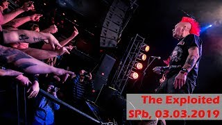The Exploited (СПб, 03.03.2019)