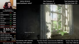 The Last of Us Speedrun World Record! (2:53:27) on Grounded mode (Glitchless)