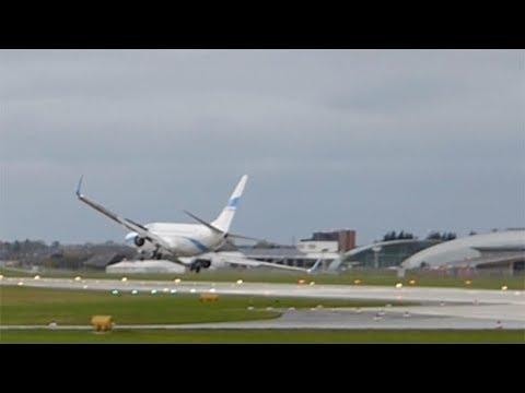 Landeanflug in Salzburg: Sturmböen erfassen Boeing 737 – Pilot startet durch