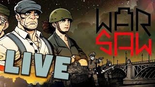 Warsaw - WW2 meets Darkest Dungeon (Livestream Gameplay)
