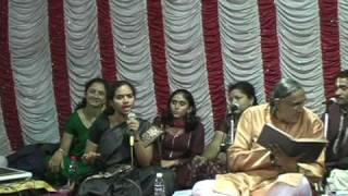 Raksha Rao singing at the Hamuman Temple program June 17 th 2009