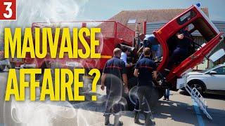 JE CASSE MON CAMION Renault chez les pompiers !