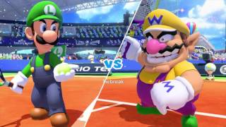 Mario Tennis: Ultra Smash Walkthrough Part 2 - Knockout Challenge (Unlocking Star Luigi)
