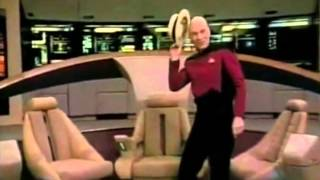 Picard dances for Gene Roddenberry