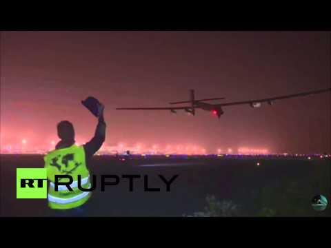 China: Solar Impulse 2 takes off for 5-day flight across the Pacific