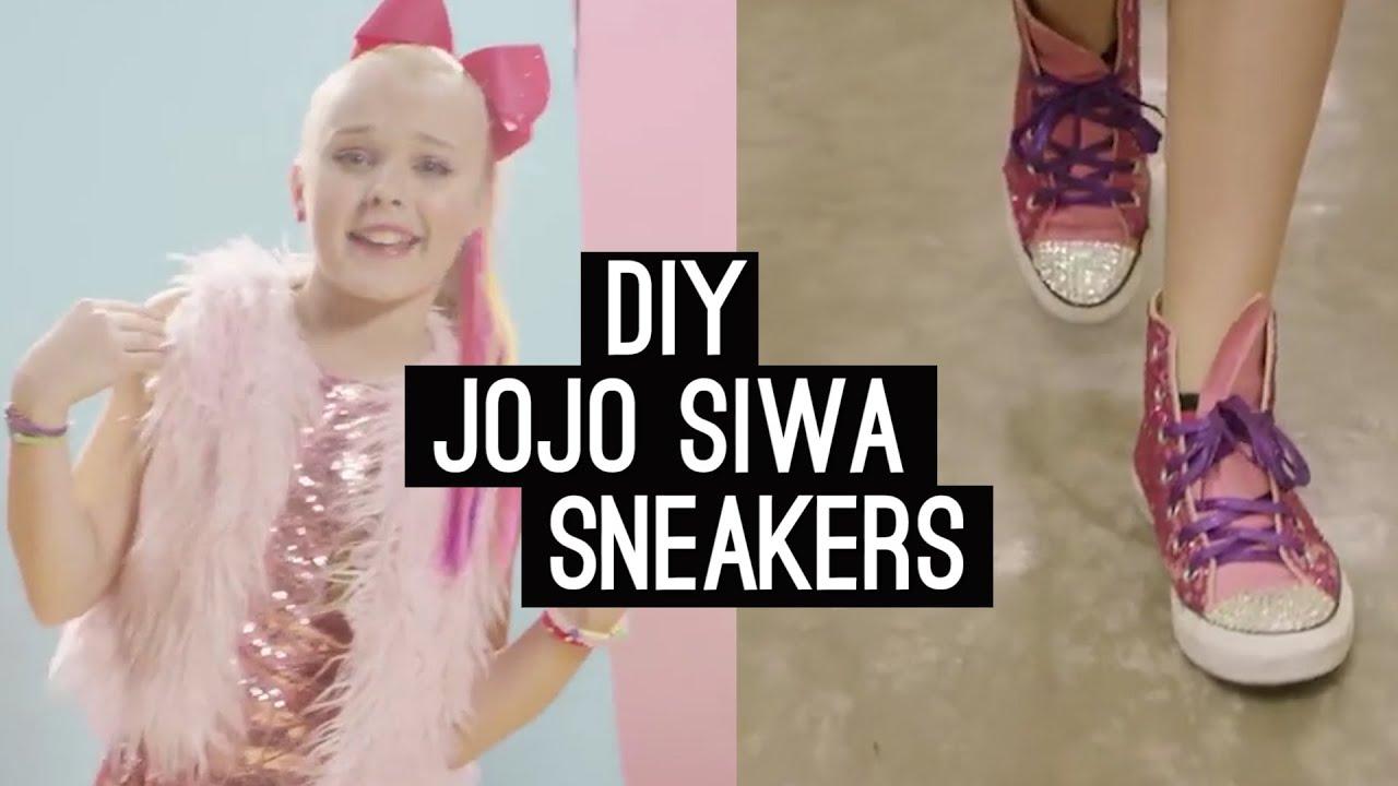 Diy Dance Moms Jojo Siwa Boomerang Sneakers