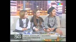 Los chiquitos de Casi Angeles con Susana Gimenez (1/4)
