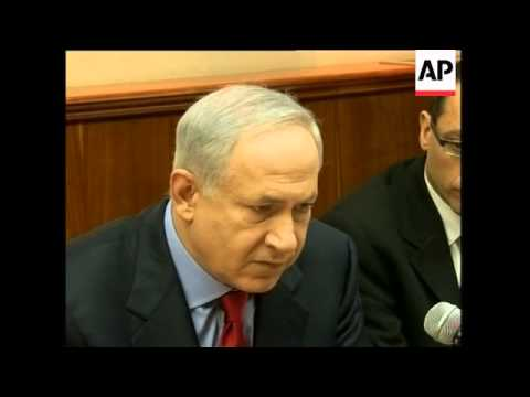 Israeli cabinet reax, Abbas spokesman, Hamas reax