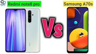 Redmi note 8 pro Vs Samsung A70s mobile comparison |by Gadget Dosth