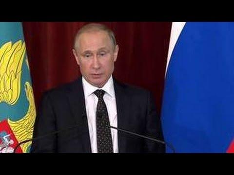Путин: Россия не поддастся милитаристскому угару