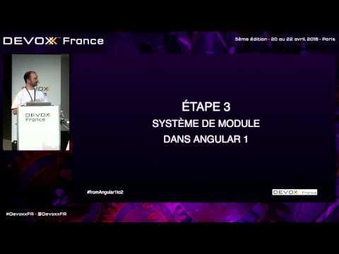 Angular 2 : Préparez vous dès maintenant à la migration (French)