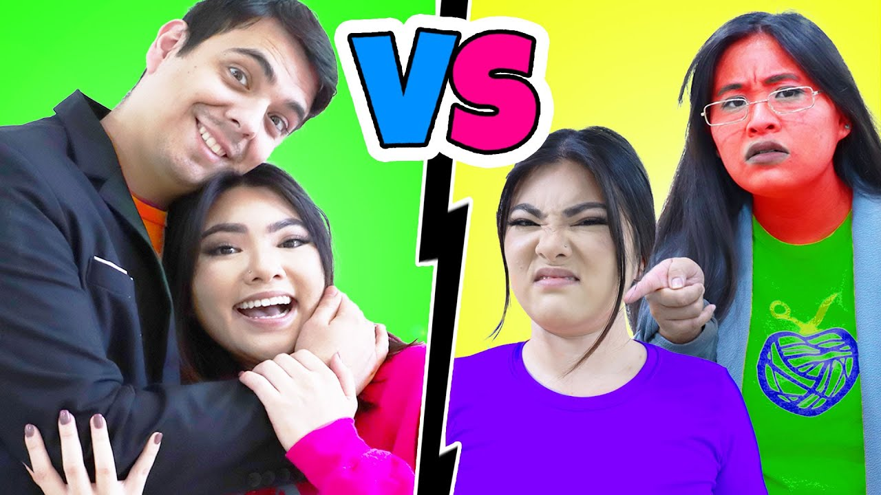 MOM VS DAD   8 CRAZY FAMILY SITUATIONS & FUNNY MOMENTS BY CRAFTY HACKS PLUS