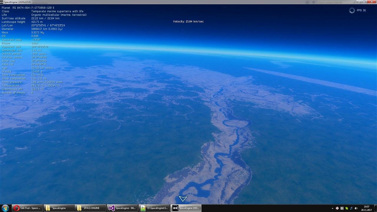 Terrain engine upgrade #3 – Space Engine