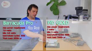 Western Digital WD 12tb gold hard drive review - vs barracuda pro and wd Black