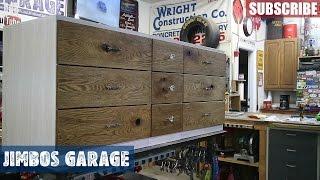 Rustic Wood Dresser Part 3 - Jimbos Garage