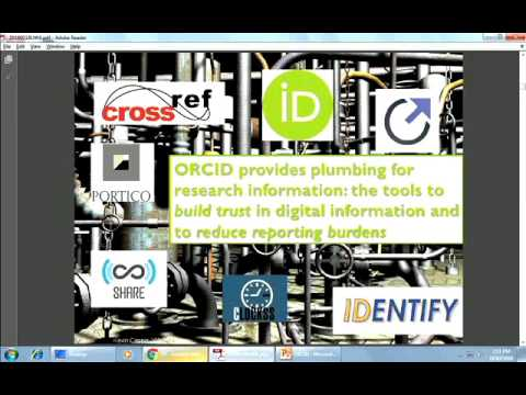 ORCID Identifier: What, why and how?