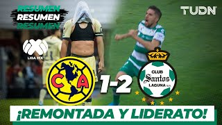 Resumen y goles | América 1 - 2 Santos | Liga MX - Ap19  - J17 | TUDN