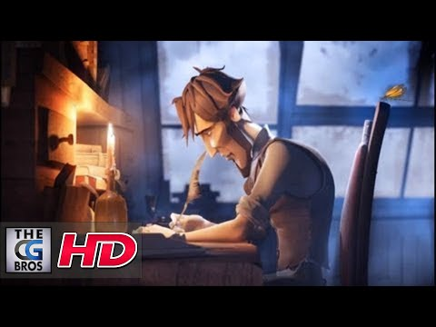 "CGI Animated Short HD: ""Sang d' Encre"" Directed by Tom Gouill"