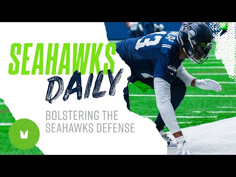 Carlos Dunlap First Practice In Seattle | Seahawks Daily