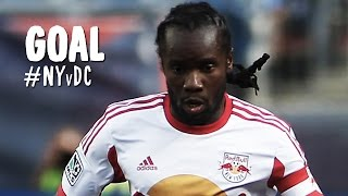 GOAL: Peguy Luyindula perfectly finishes off a cross from Henry | New York Red Bulls vs. DC United