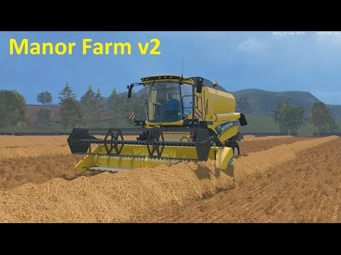 Farming Simulator 15 - Manor farm v2 - Part 6 - New tractor