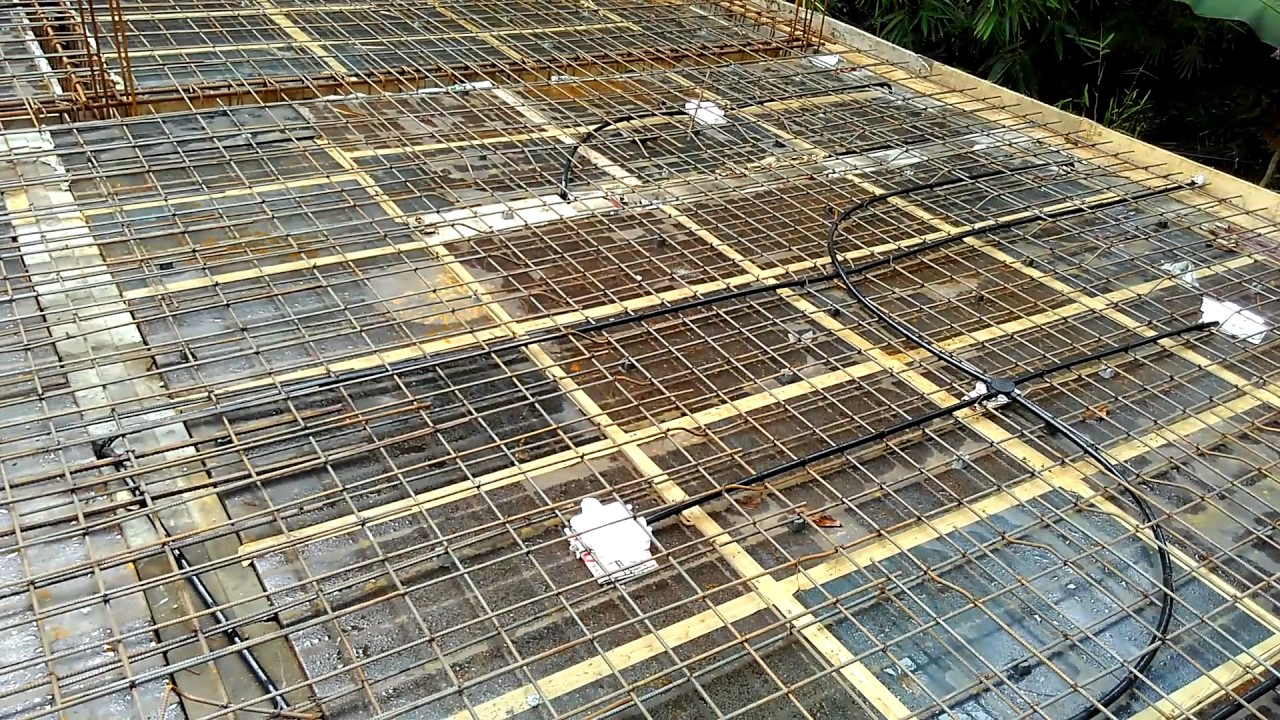 Rcc Roof Slab Reinforcement Details 3 Youtube