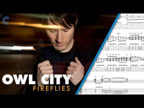 Clarinet - Fireflies - Owl City - Sheet Music, Chords, & Vocals