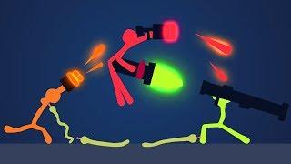ЗМЕИ, ЛАВА И НОВЫЕ УРОВНИ - STICK FIGHT THE GAME