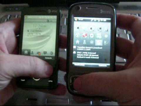 ATT Fuze vs. HTC TyTN II