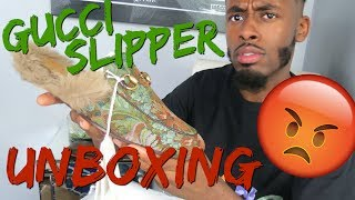 Unboxing $800 Gucci slippers but why is Gucci using Kangaroo fur? 😡